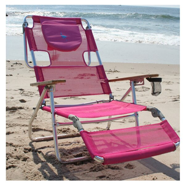 3-in-1 Reclining Beach Chair by Ostrich Chair