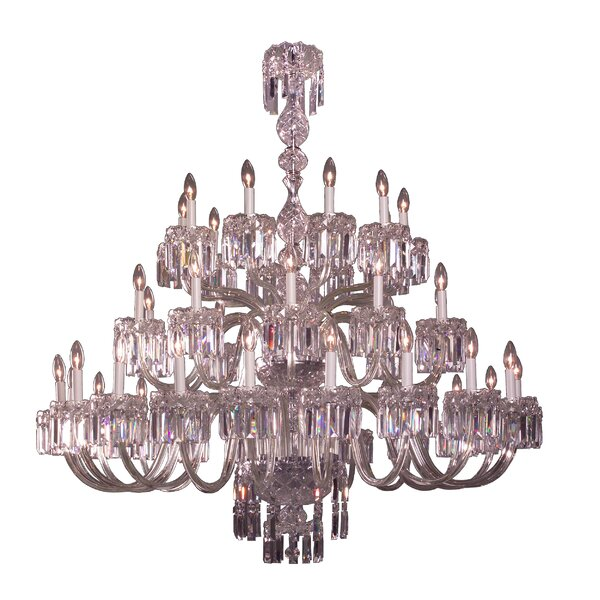 Grigsby 40-Light Candle Style Chandelier by House of Hampton