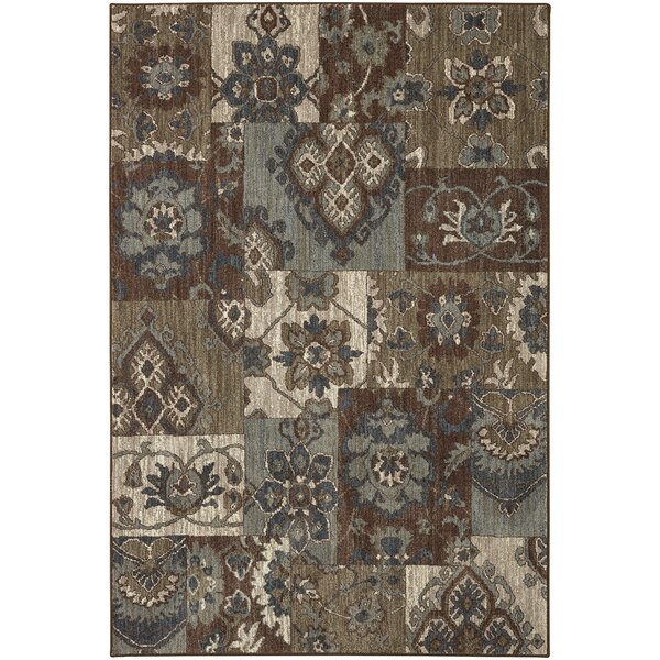Lakemont Brown Area Rug by Darby Home Co