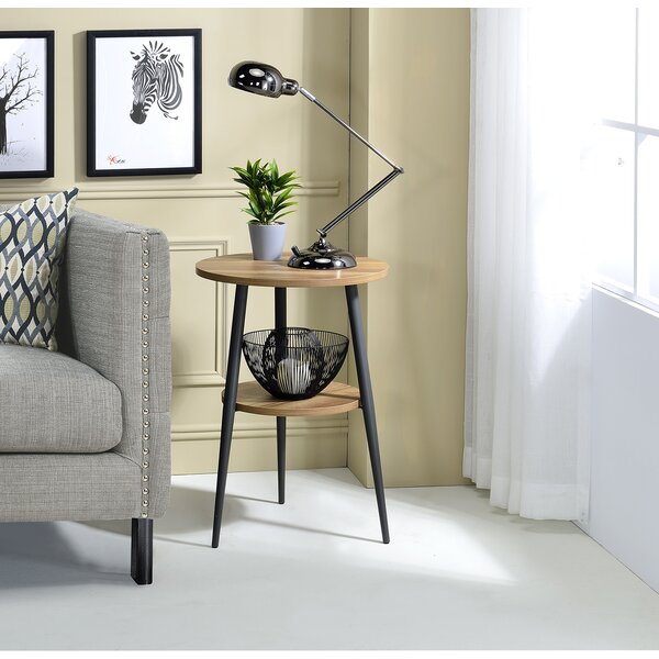 Melantha End Table With Storage By Wrought Studio