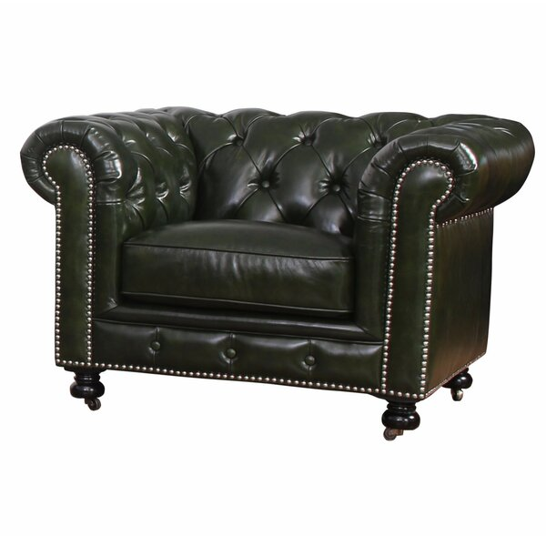 Kilie Chesterfield Chair by 17 Stories