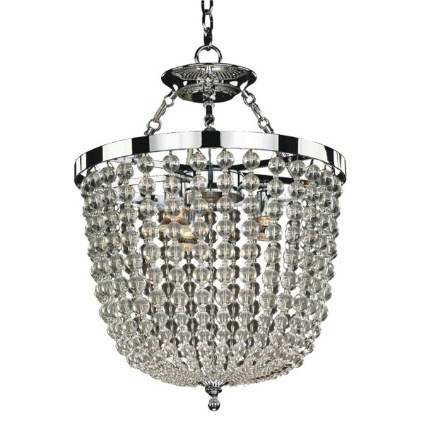 Helland 8-Light Unique / Statement Geometric Chandelier By House Of Hampton