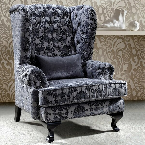 Argenta Wingback Chair by House of Hampton