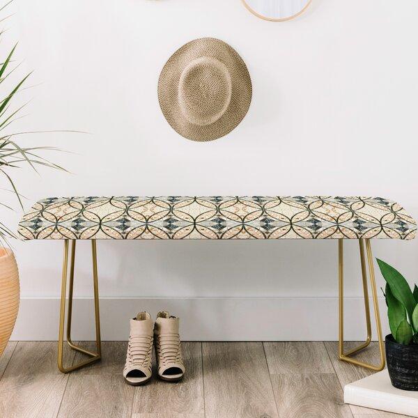 Marta Barragan Camarasa Mosaic Art Upholstered Bench by East Urban Home