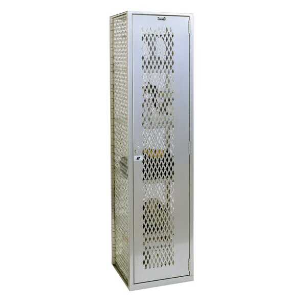 Welded 1 Tier 1 Wide Gym Locker by HallowellWelded 1 Tier 1 Wide Gym Locker by Hallowell