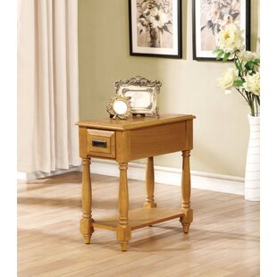 Hocker End Table with Storage