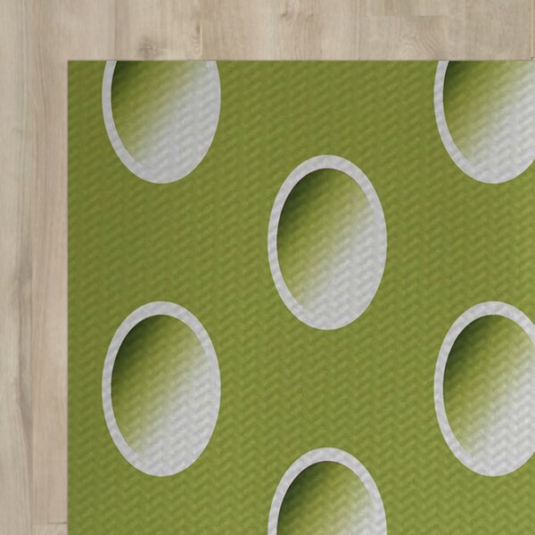 Green Indoor/Outdoor Area Rug by The Holiday Aisle