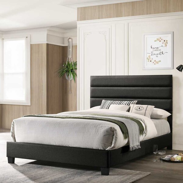 Droitwich Upholstered Standard Bed by Brayden Studio