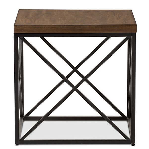 Trueman End Table by Union Rustic