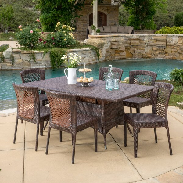 Roquefort 7 Piece Dining Set by Darby Home Co