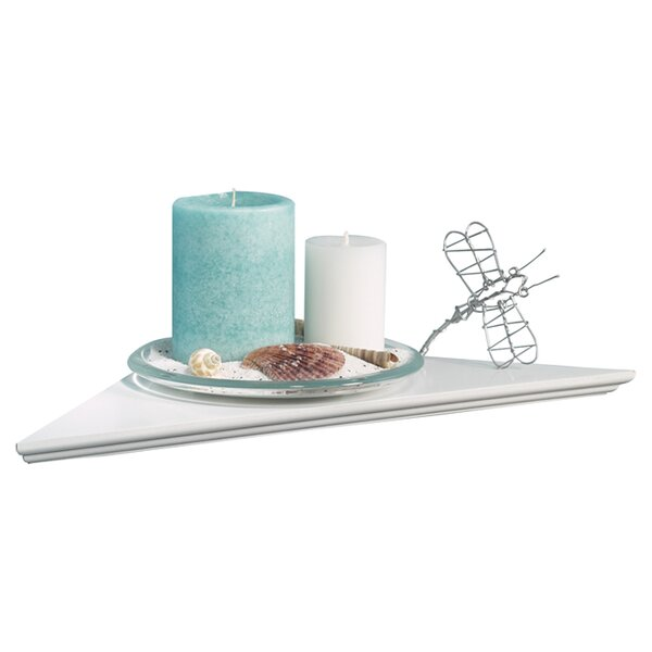 Irvington Instant Single Pack Corner Shelf by Highland Dunes