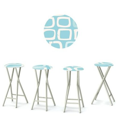 It's A Boy 30'' Patio Bar Stool (Set of 4) by Best of Times Best of Times