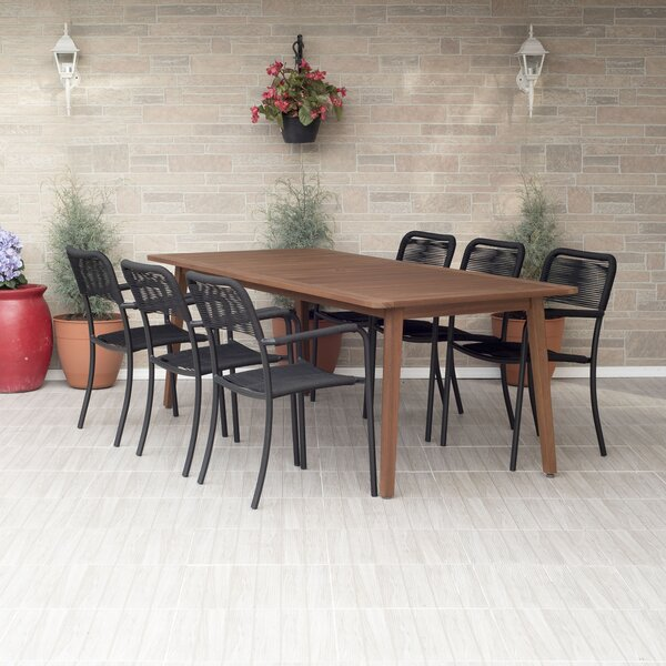 Nettleton 7 Piece Dining Set by Beachcrest Home