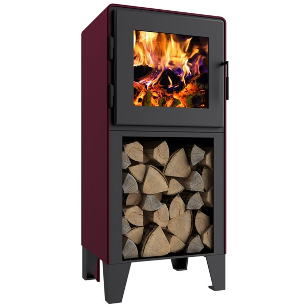 Aksah 1500 Sq. Ft. Direct Vent Wood Stove By Latitude Run