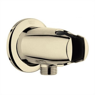 Movario Wall Union with Hand Shower Holder by Grohe