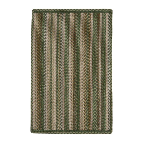 Mountain View Green Indoor/Outdoor Rug by Homespice Decor