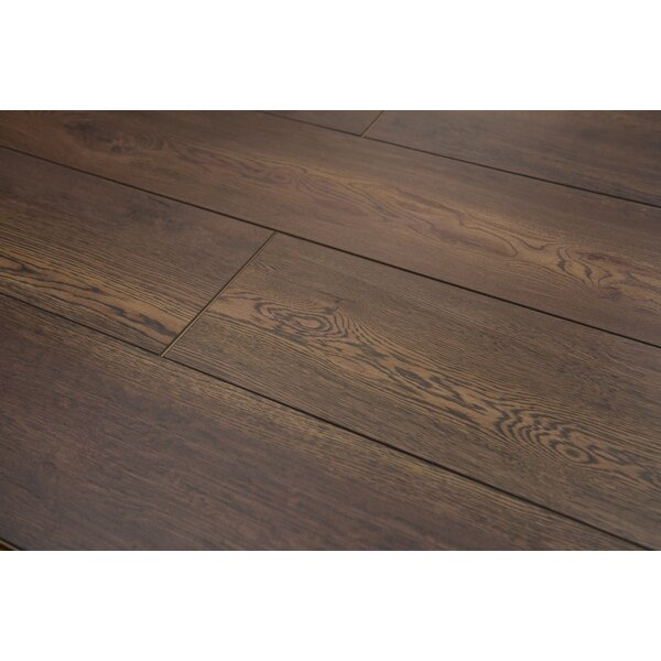 Brighton Vario 9 x 48 x 10mm Oak Laminate Flooring in Leather by Branton Flooring Collection