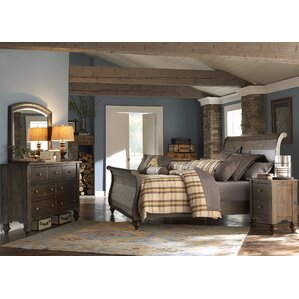 McCarthy Sleigh Configurable Bedroom Set by Darby Home Co