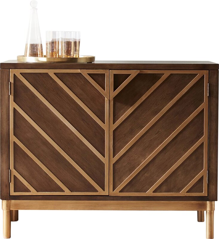Exceptional Thame Cocktail Accent Cabinet