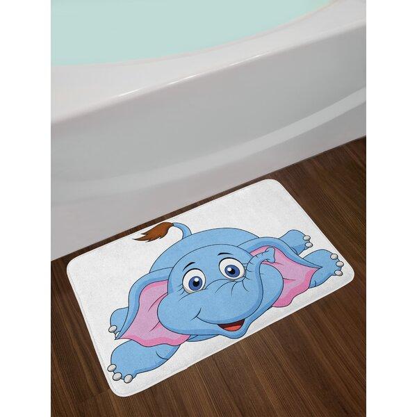 Cartoon Cute Baby Bath Rug by East Urban Home
