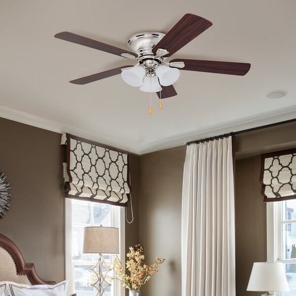 46 Crumpton 5 Blade LED Ceiling Fan by Charlton Ho