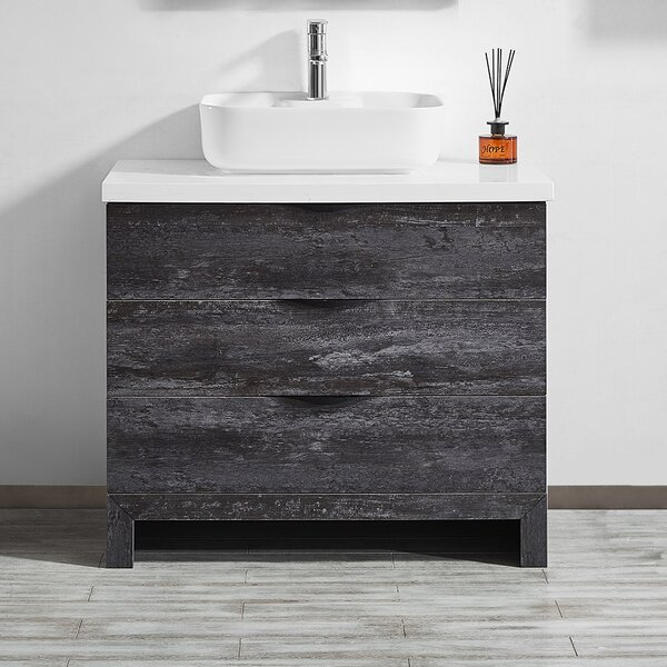 Kelsey 36 Single Bathroom Vanity Set by Union Rustic