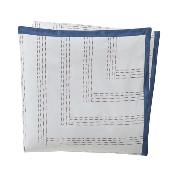 Maze Blockprint Duvet by DwellStudio