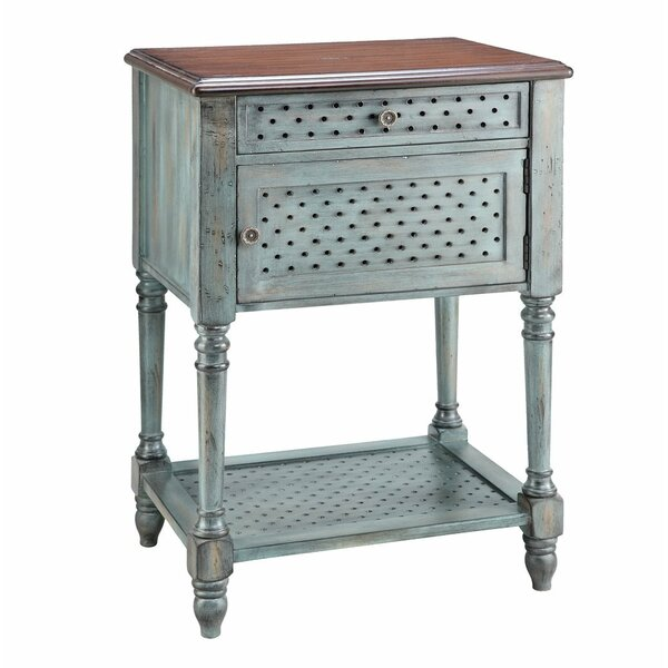 Bayfield End Table With Storage By Ophelia & Co.