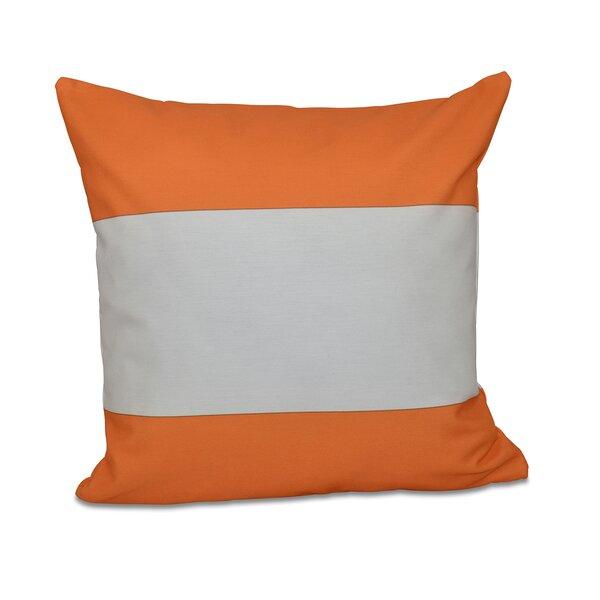 Big Stripe Horizontal Down Euro Pillow by e by design