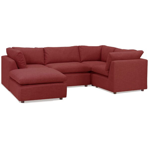Harmony Modular Sectional with Ottoman by Tory Furniture