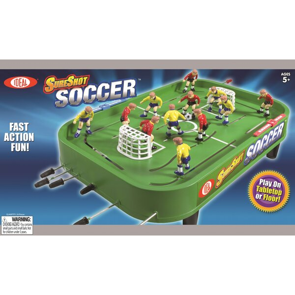Sure Shot Soccer Table Top Foosball by POOF-Slinky, Inc
