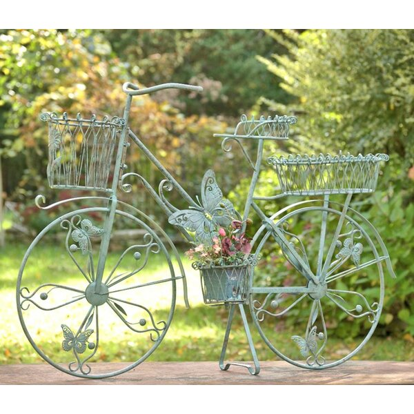 Butterfly Bicycle Plant Stand by Zaer Ltd International