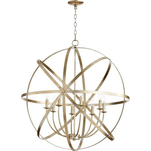 Dian 8 - Light Unique / Statement Globe Chandelier by Willa Arlo Interiors Willa Arlo Interiors