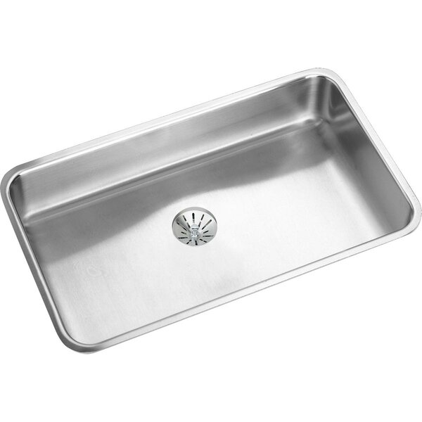 Lustertone 31 L x 19 W Undermount Kitchen Sink with Drain by Elkay