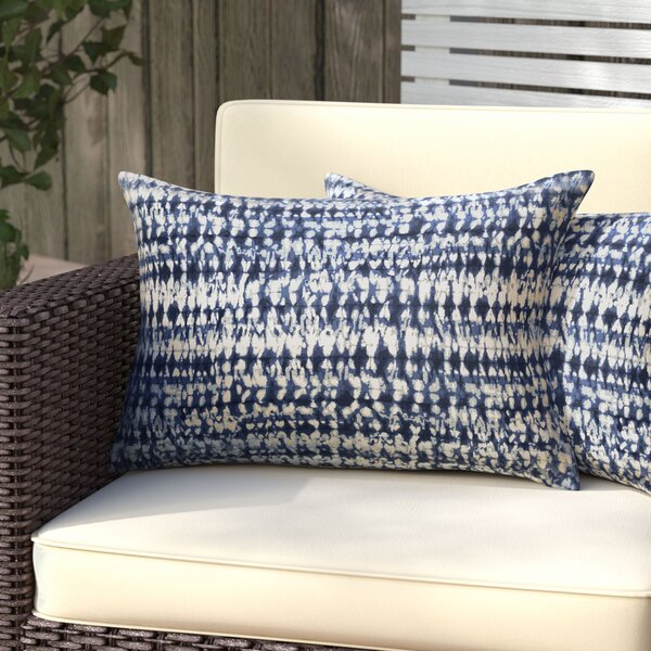 Demers Indoor/Outdoor Lumbar Pillow (Set of 2) by Mercury Row
