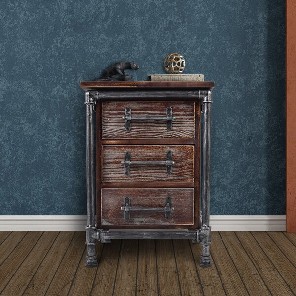 Brickhouse 3 Drawer Chest by Williston Forge