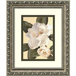 Morning Magnolia' Framed Painting Print by Charlton Home