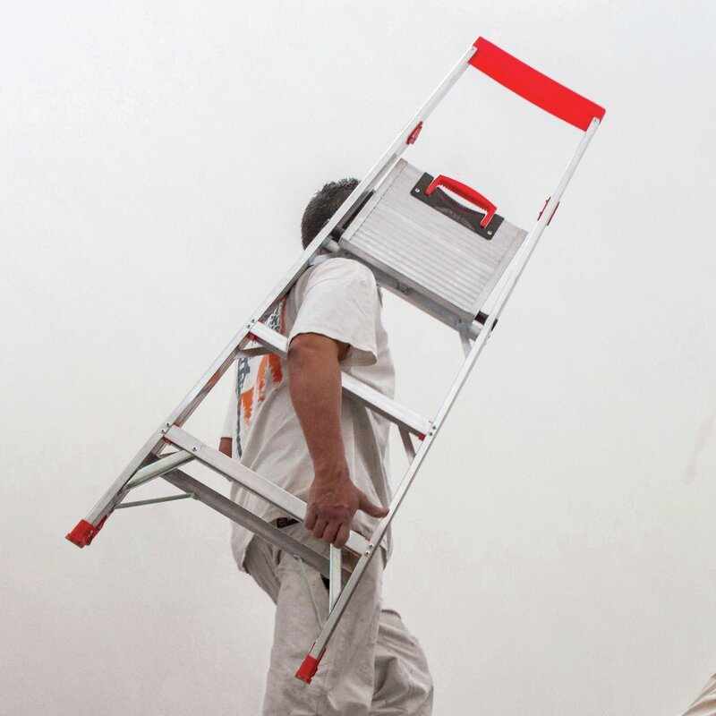 Little Giant Ladder 6 23 Ft Aluminum Flip N Lite Type 1a