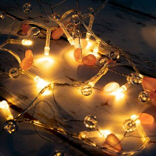 Compare Kathleen LED Fairy Beads and Hearts 20 Light Novelty String Lights By The Holiday Aisle