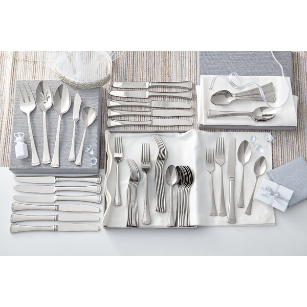 Portola 65 Piece Flatware Set by Lenox