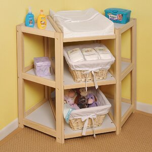 Hayley Diaper Corner Baby Changing Table