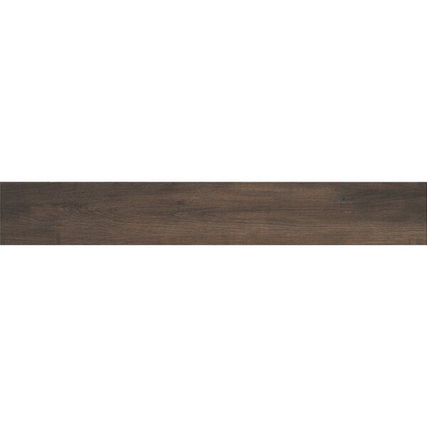 Urban 6 x 36 Porcelain Wood Tile in Brown by Samson