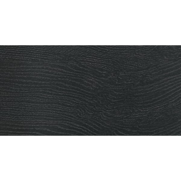 Harmony Grove 3 x 15 Porcelain Wood Look Tile in Oak Charcoal by PIXL