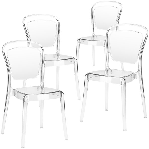 Mullet Side Dining Chair (Set of 4) by House of Hampton