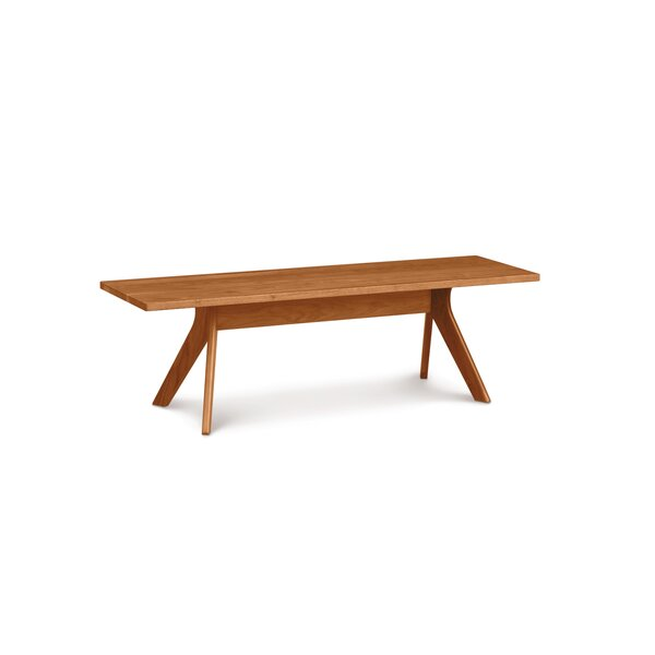 Audrey Wood Bench by Copeland Furniture Copeland Furniture