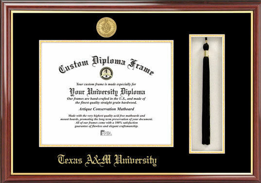 Campus Images NCAA Texas A&M University Tassel Box and Diploma ...