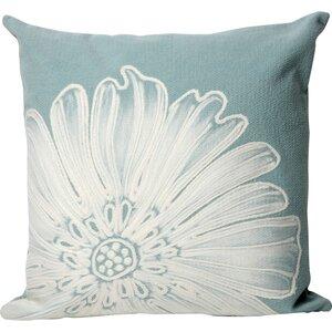 Kaitlyn Antique Medallion Outdoor Throw Pillow