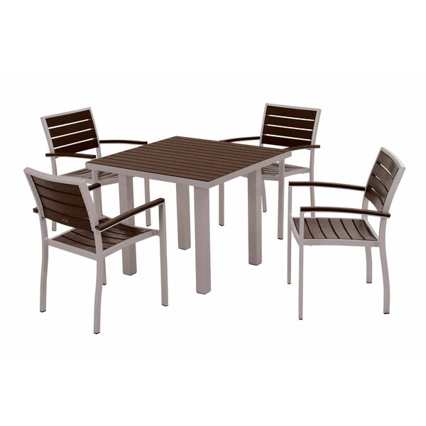 Euro 5-Piece Dining Set by POLYWOOD®