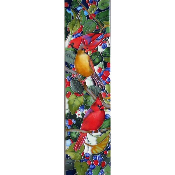 Cardinal Tile Wall Decor by Continental Art Center