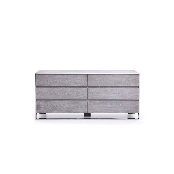 Gutfroind-Pulliat 6 Drawer Double Dresser by Orren Ellis